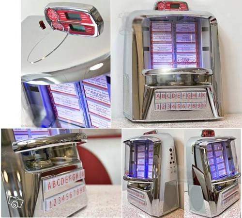 Jukebox typ modell Seeburg Wall-O-Matic för MP3