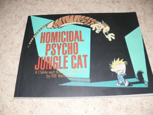 Calvin and Hobbes Homicidial psycho
